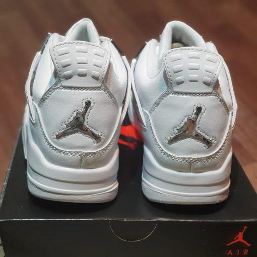 got giay nike air Jordan 4 Retro Pure Money 2017 308497-100 jodan 4s full white rep 11 gia re ha noi