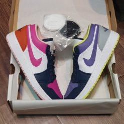 giay nike Air Jordan 1 Low Purple Magenta rep 11 gia re ha noi DJ4342-400
