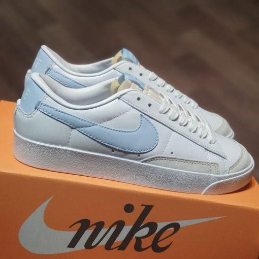 "giay Nike Blazer Low '77 ""Ghost"" DC4769-103 trang xanh rep 11 gia re ha noi"