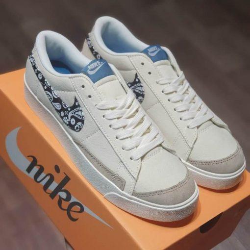 giay Nike Blazer Low Paisley Swoosh DJ4665-100 rep 11 gia re ha noi
