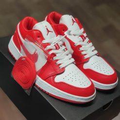 Giay Nike Air Jordan 1 Low Gym Red White 553558-611 rep 11 gia re ha noi