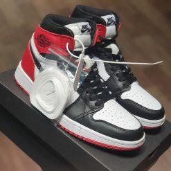 giay Nike Air Jordan 1 Retro High Satin Black Toe CD0461-016 rep 11 gia re ha noi